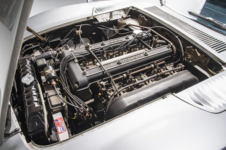 Toyota 2000GT engine front