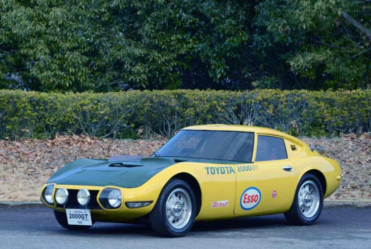 "Toyota 2000GT ""Speed Trial"" (replica)"