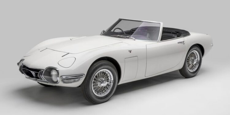 Bond Car- Only two convertibles ever made