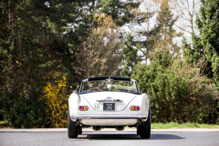 rear of BMW 507