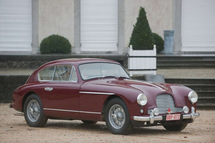 side of 1955 Aston Martin DB2/4