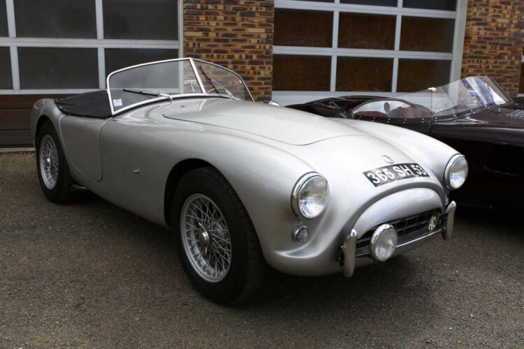 front of 1957 AC Bristol Roadster