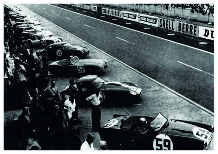 1960 Le Mans race