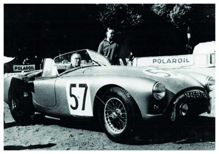 1957 AC Bristol Roadster