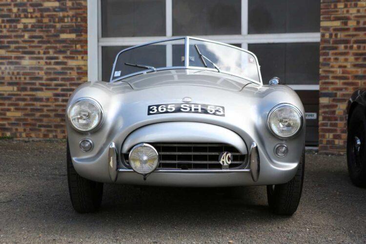 1957 AC Bristol Roadster silver