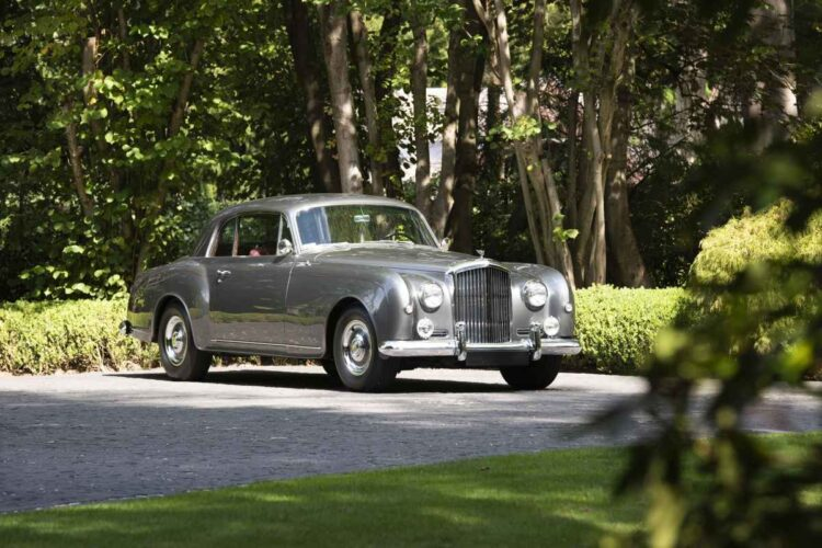 front of 1956 Bentley S1 Continental Coupe