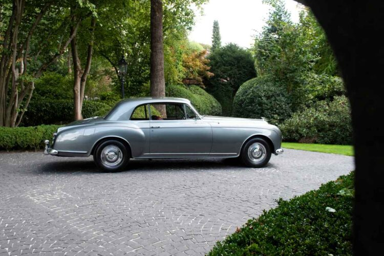 side of 1956 Bentley S1 Continental Coupe
