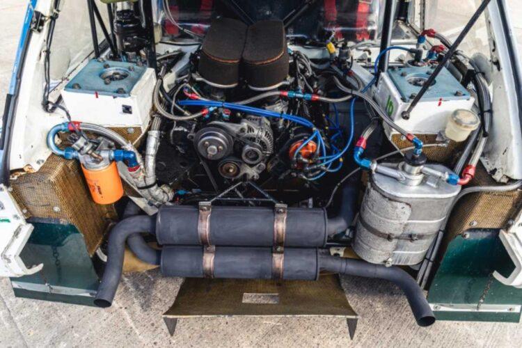 Engine of 1986 MG Metro 6R4 ex-Works