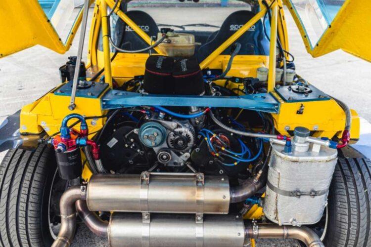Engine of 1987 DAM4100