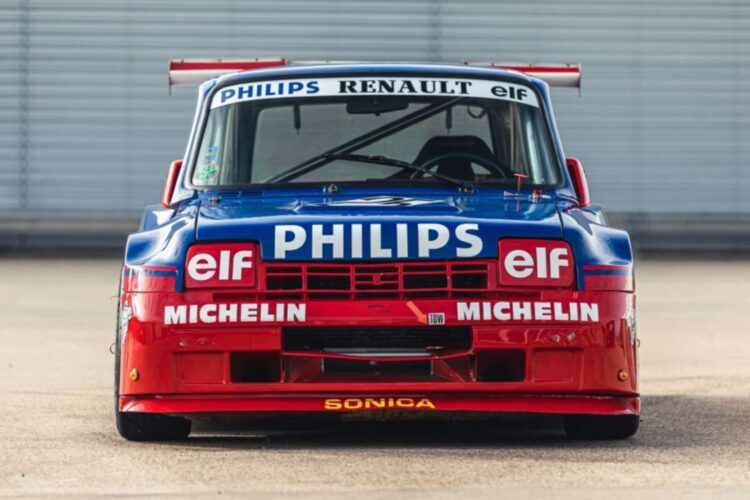 front of 1987 Renault 5 Turbo 'Superproduction'