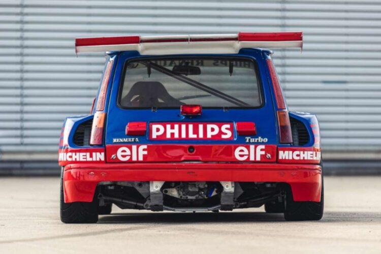 back of 1987 Renault 5 Turbo 'Superproduction'