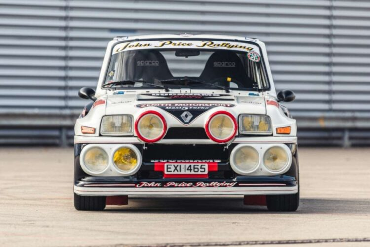 front of 1984 Renault 5 Maxi Turbo