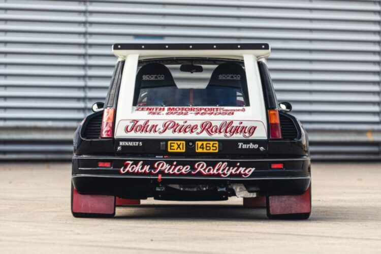 back of 1984 Renault 5 Maxi Turbo