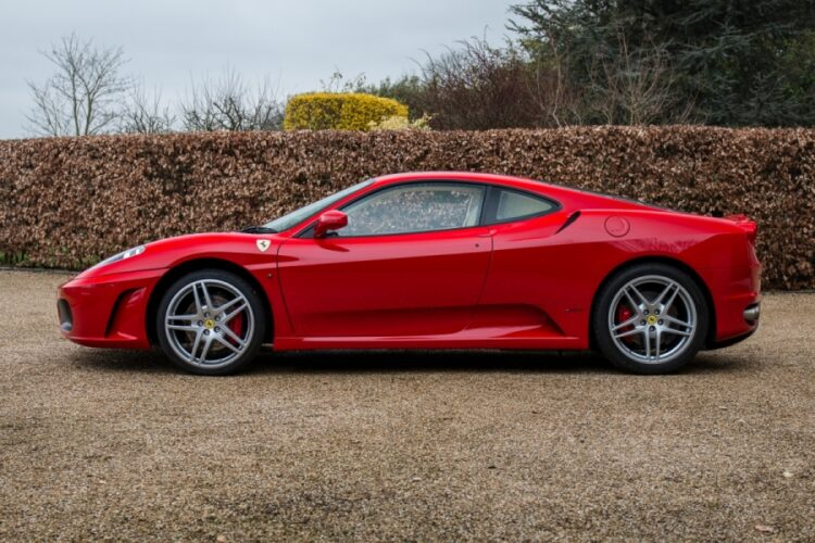 side of Ferrari F430