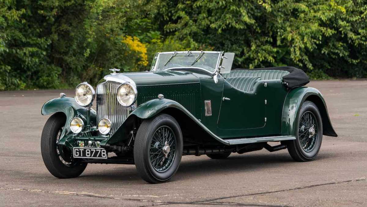 1931 Bentley 8 Liter tourer