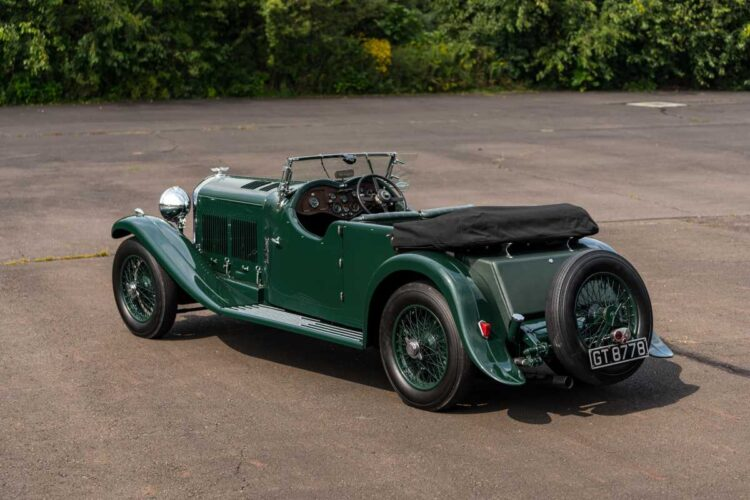 back of 1930 Bentley 8-Liter Tourer Collectors' Motor Cars and Automobilia Auction