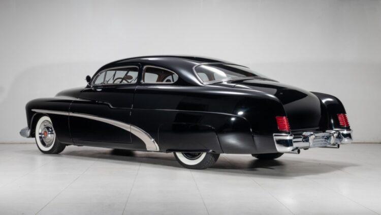 rear of 1951 Mercury Custom Coupe