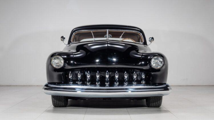 front of 1951 Mercury Custom Coupe
