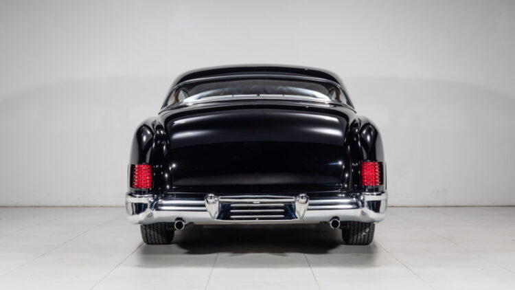 tail lights of 1951 Mercury Custom Coupe