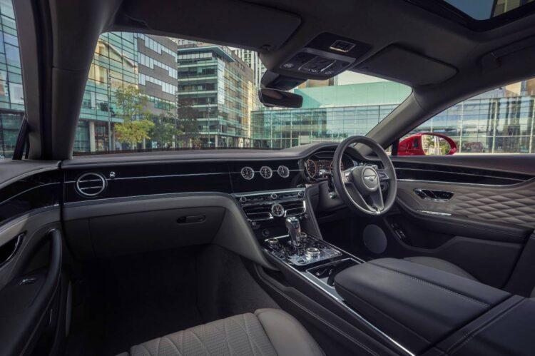 interior of Bentley Flying Spur V8