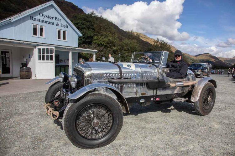 Andrew & Anne Davies in the 1929 Chrysler 75 Roadster