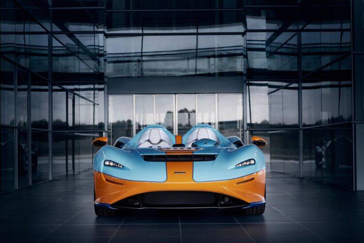 seats of McLaren Elva Gulf Theme