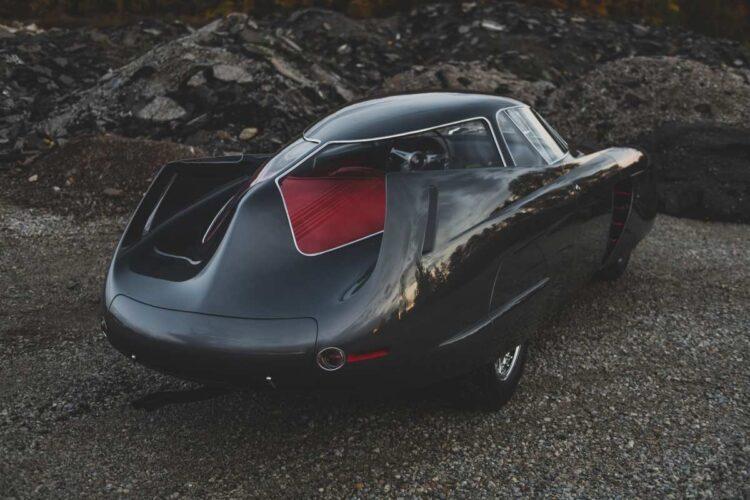 back of alfa Romeo1953 B.A.T. 5