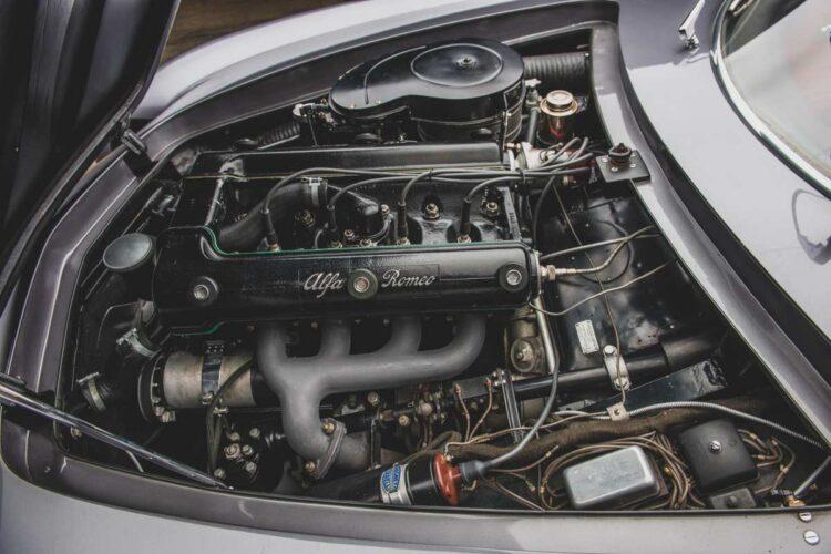 engine of alfa romeo 1953 B.A.T. 5