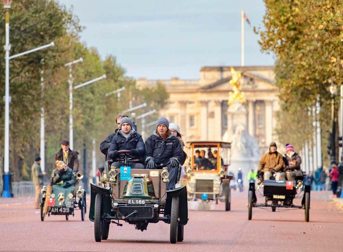 2020 London to Brighton Veterans Car Run