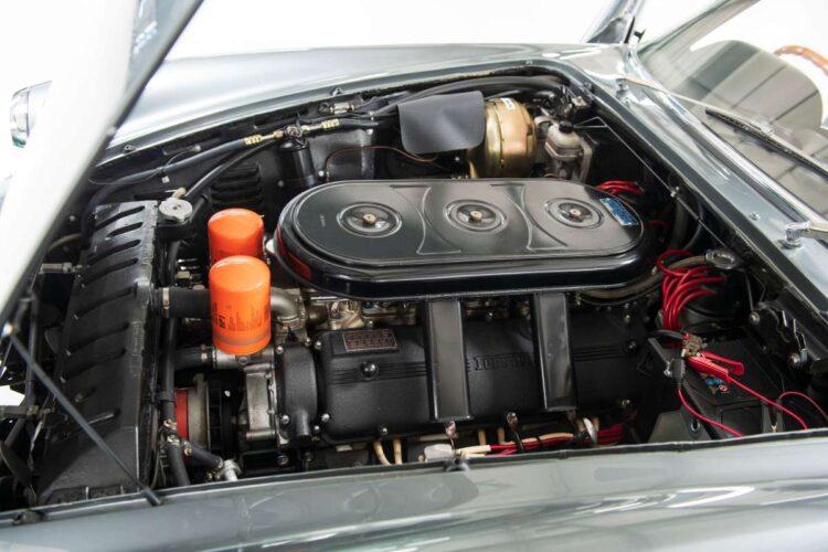 engine of 1969 Ferrari 365 GTC