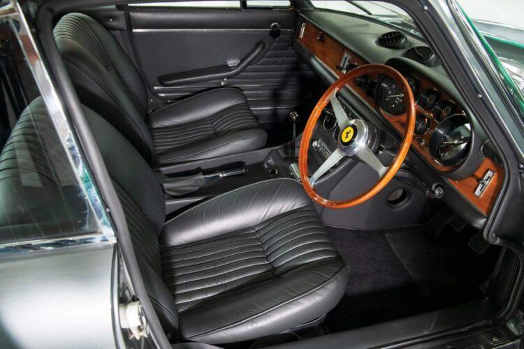 interior of 1969 Ferrari 365 GTC