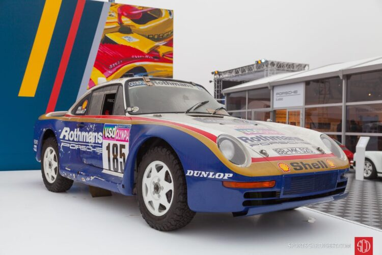 Porsche 959 Dakar Rally Car