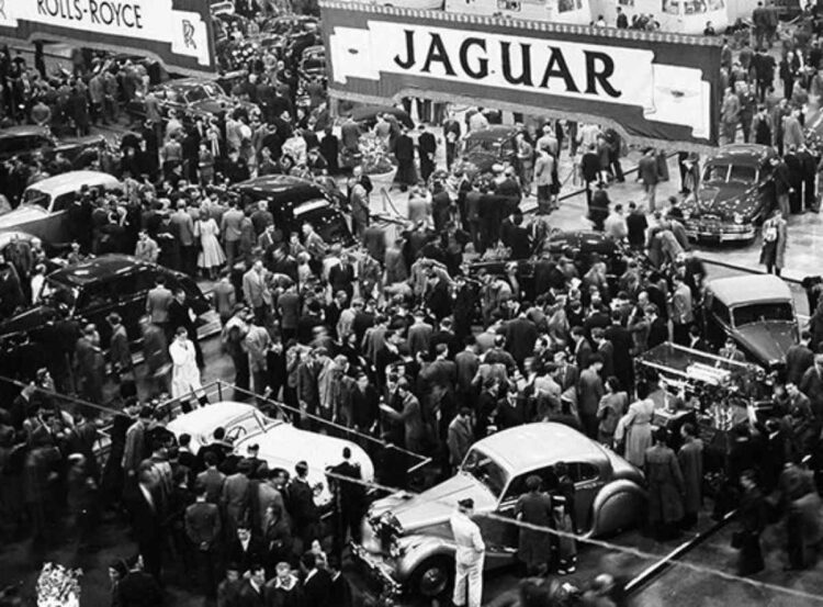 Earls Court Auto Show 1948