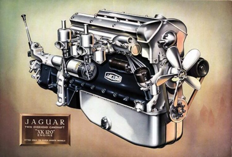 Jaguar XK120 Engine