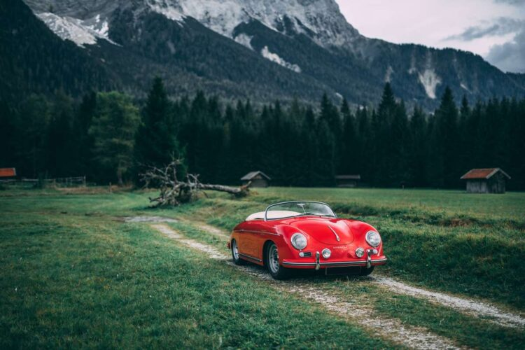 1955 Porsche 356 Carrera at RM Sotheby's 2020 London Auction