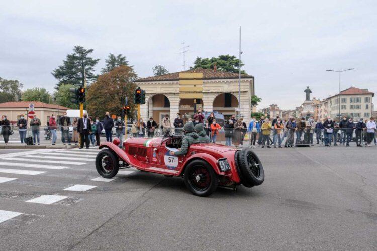 Gaetano Maffei and Andrea Maffei in the 1930 Alfa Romeo 6C 1750 GS