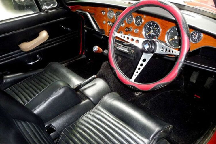 interior of the GT6 Mk I