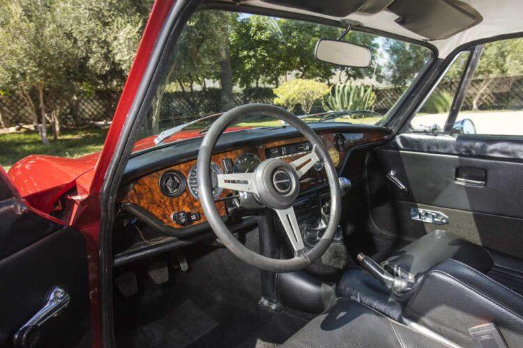 interior of Triumph GT6 Mk III