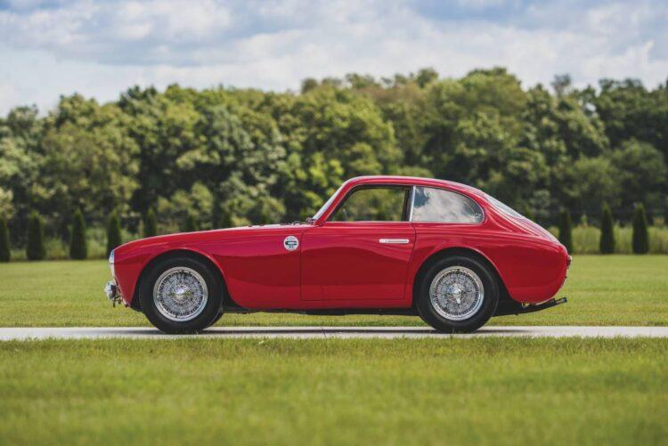 side profile of 1952 Ferrari 225 S Berlinetta by Vignale
