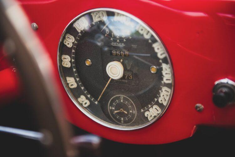 dashboard of 1952 Ferrari 225 S Berlinetta by Vignale