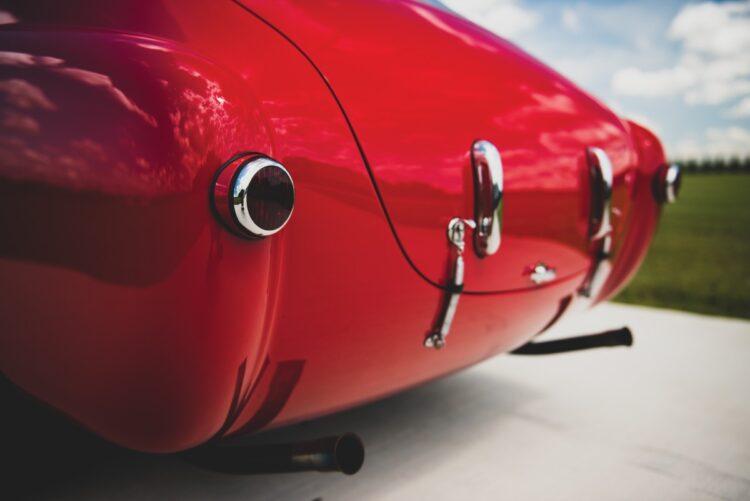 exhaust of 1952 Ferrari 225 S Berlinetta by Vignale
