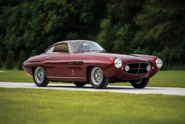 1953 Fiat 8V Supersonic by Ghia