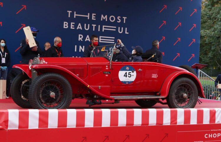 2nd Sergio Sisti and Anna Gualandi - Lancia Lambda Spider Casaro of 1929 number 45