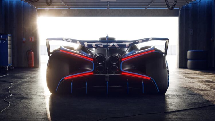 rear of Bolide