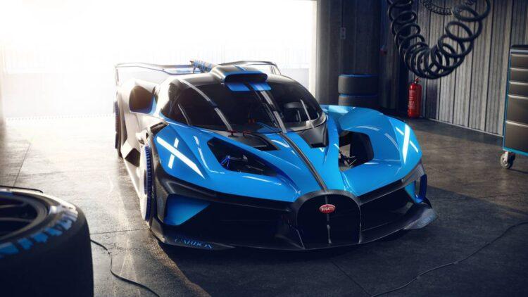 areodynamics of Bugatti