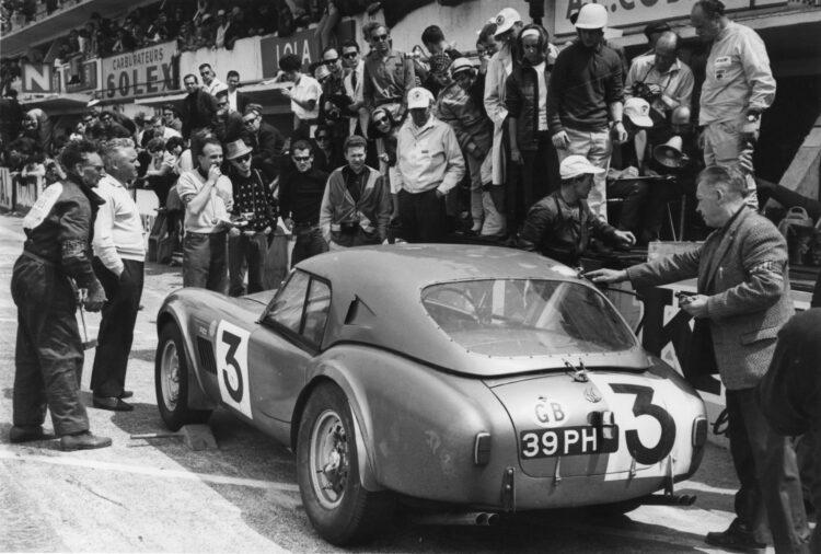 1963 AC Cobras at Le Mans