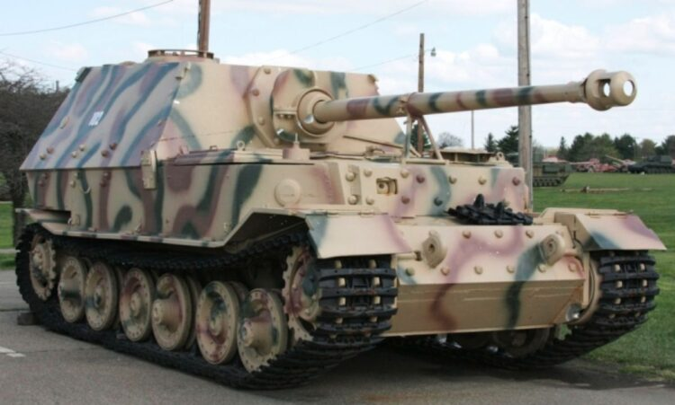 Panzerjäger Tiger Elefant tank destroyer