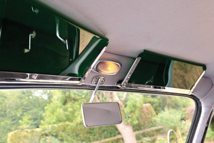 rear view mirror of 356 Pre-A