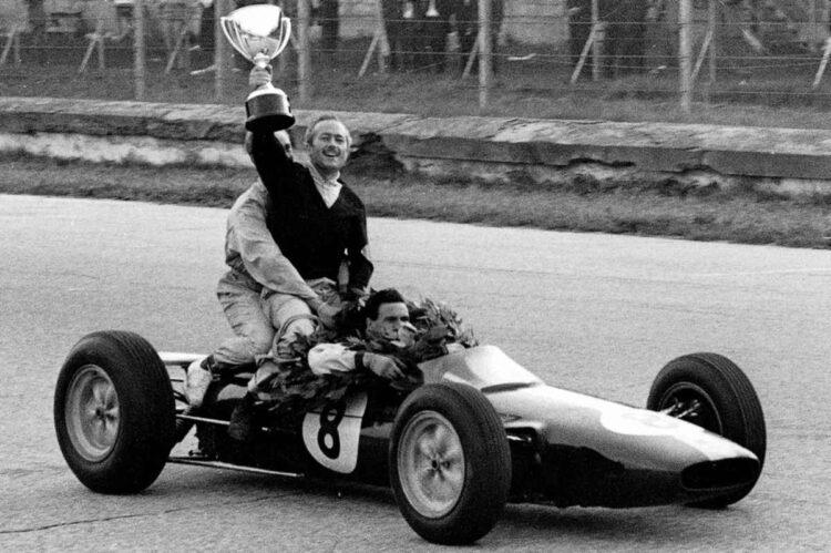 1962 Lotus 25 Formula 1 Race Car with Colin Chapman