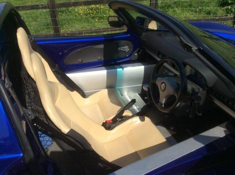 Series 1 Lotus Elise interior
